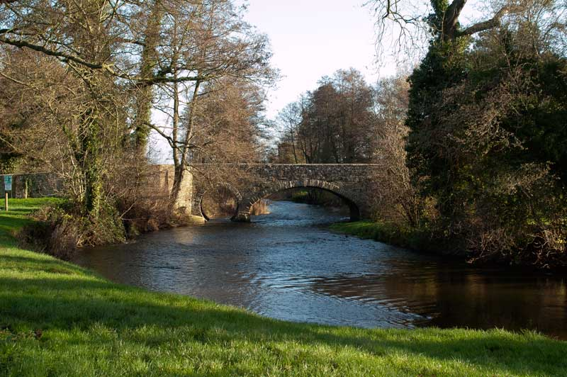 The bridge over the River Arrow at Pembridge