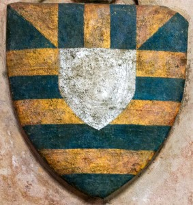 The Mortimer Coat of Arms, taken from the tomb of Blanche Mortimer