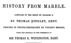 History from Marble