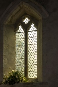12 century window in Pembridge Church